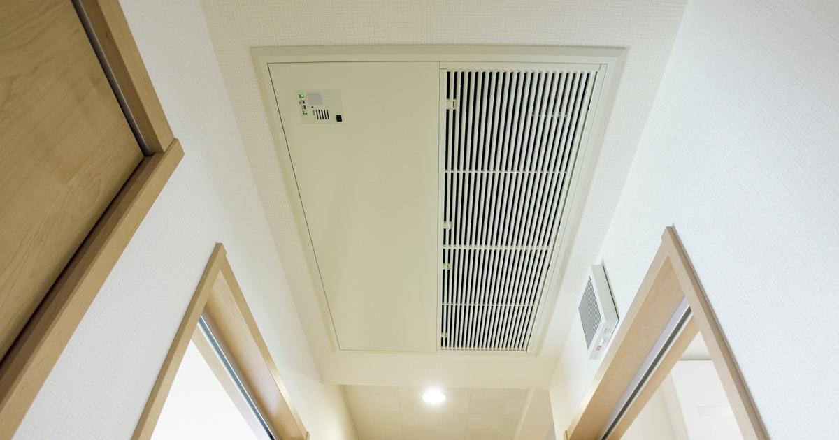 天井型埋め込みエアコン