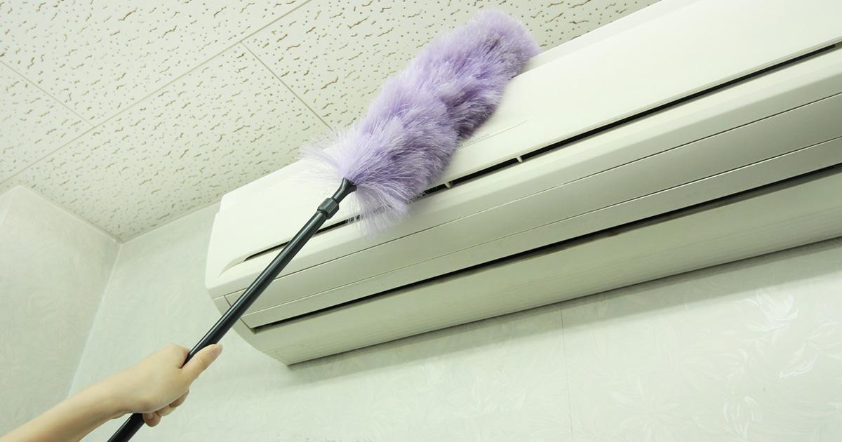 自分でエアコンを掃除