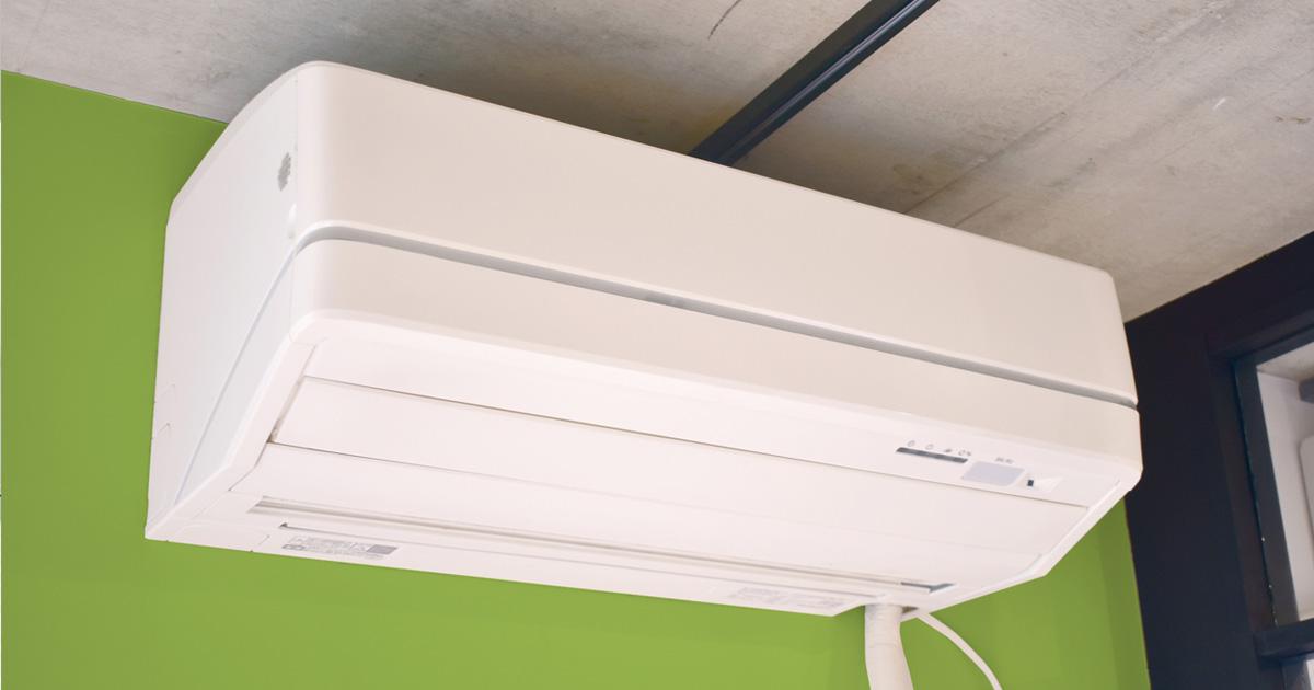 壁掛けお掃除付きエアコン