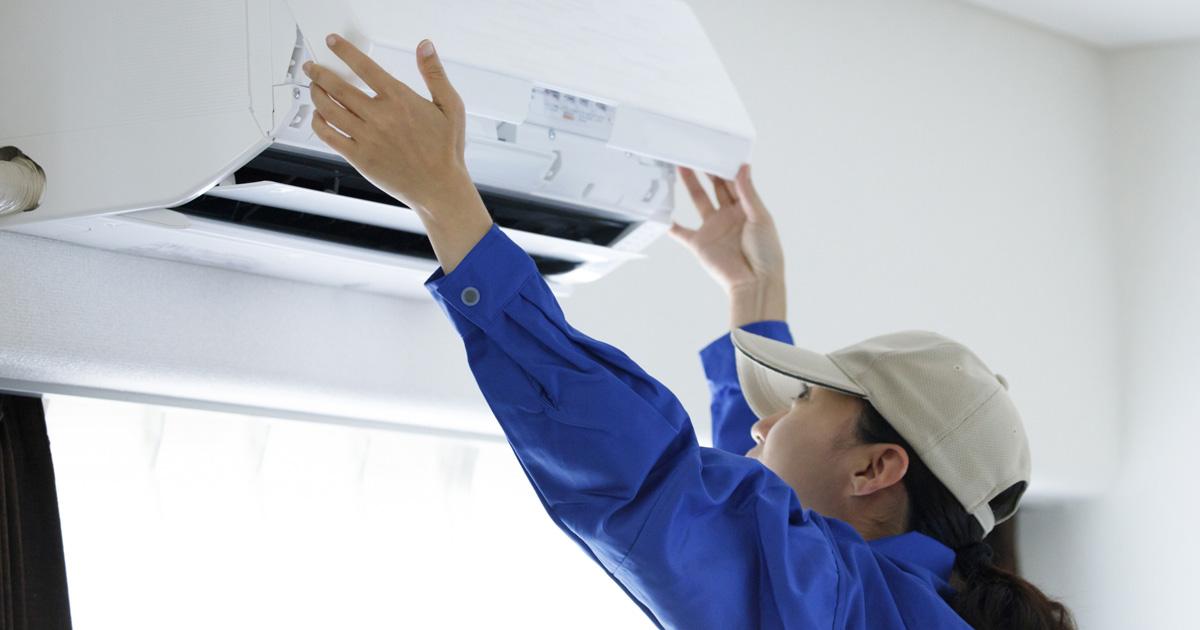 お掃除機能付きエアコンを依頼する時のポイント