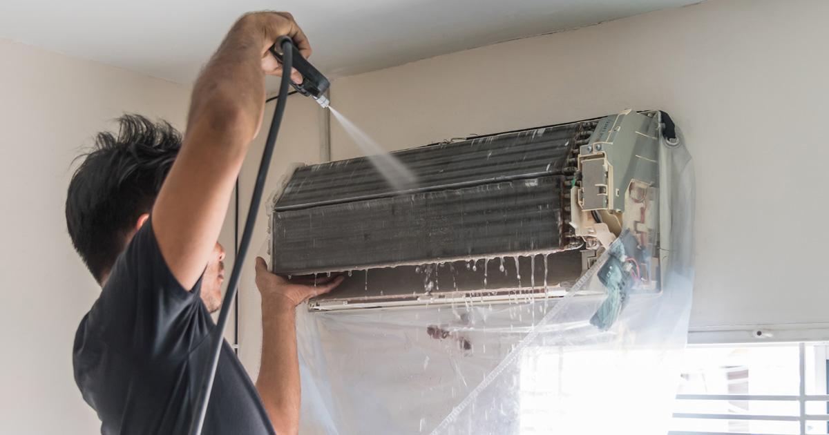 エアコンクリーニングの依頼はエアコンの汚れ具合で判断